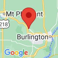 Map of Danville IA US