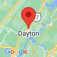 Map of Dayton, TN