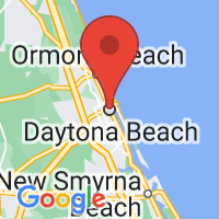 Map of Daytona Beach FL US