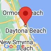 Map of Daytona Beach, FL US