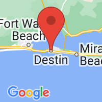 Map of Destin, FL