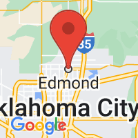 Map of EDMOND OK US