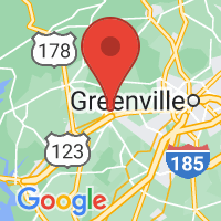 Map of Easley, SC