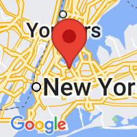 Map of East Elmhurst, NY
