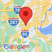 Map of Edison NJ US