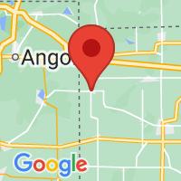 Map of Edon, OH