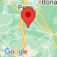 Map of Elko, GA