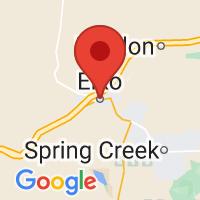 Map of Elko, NV US