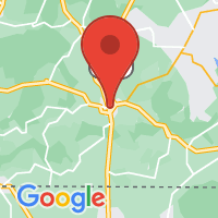 Map of Fayetteville, TN