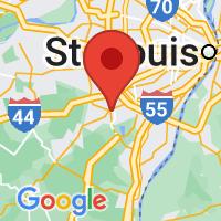 Map of Fenton MO US