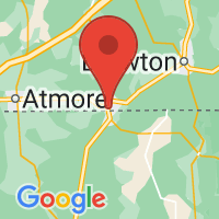 Map of Flomaton, AL