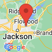 Map of Flowood, MS