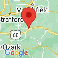 Map of Fordland, MO