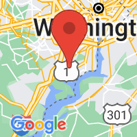Map of Fort Belvoir, VA