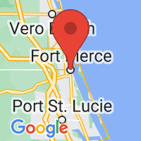 Map of Fort Pierce FL US