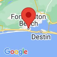 Map of Fort Walton Beach, FL US