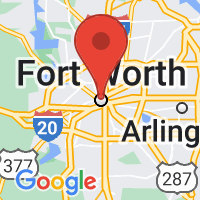 Map of Fort Worth TX US