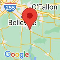 Map of Freeburg IL US