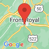 Map of Front Royal, VA US