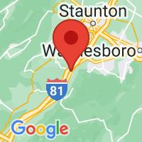 Map of GREENVILLE VA US