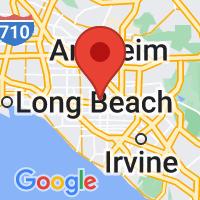 Map of Garden Grove CA US