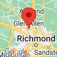 Map of Glen allen VA US