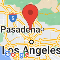 Map of Glendale CA US