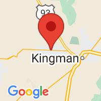 Map of Golden Valley, AZ