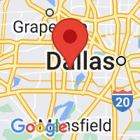Map of Grand Prairie, TX US