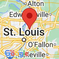 Map of Granite City IL US