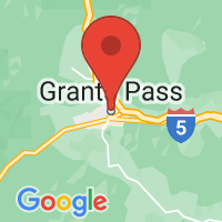 Map of Grants Pass, OR US