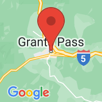 Map of Grants Pass, OR