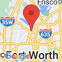 Map of Grapevine, TX US
