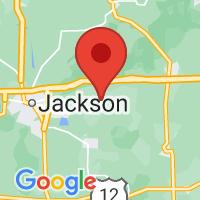 Map of Grass Lake MI US