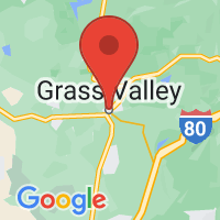 Map of Grass Valley, CA