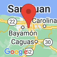 Map of Guaynabo, PR