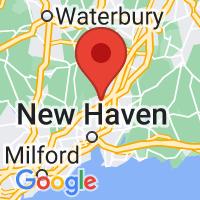 Map of HAMDEN CT US