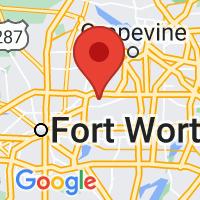 Map of HURST TX US