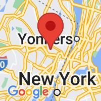 Map of Hackensack NJ US