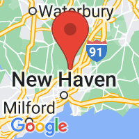Map of Hamden CT US