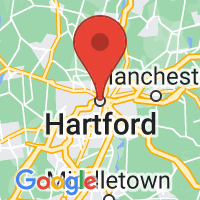 Map of Hartford, CT