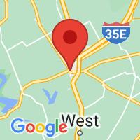 Map of Hillsboro, TX