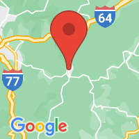 Map of Hinton, WV