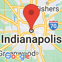 Map of Indianapolis, IN US