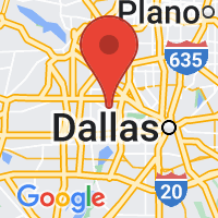 Map of Irving TX US