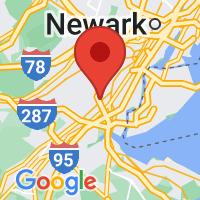 Map of Iselin NJ US