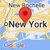 Map of Jamaica, NY