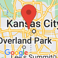 Map of Kansas City, KS US