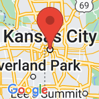 Map of Kansas City, MO US