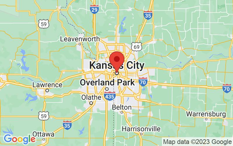 Map of Kansas City, MO US